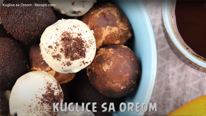 E-KUHINJA: Kuglice sa oreom (VIDEO)